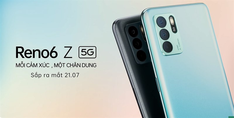 OPPO Reno6 Z 5G lộ thiết kế trong teaser mới nhất: Mỏng nhẹ và tinh tế