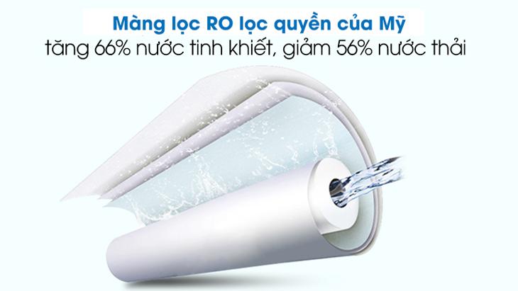 Tỉ lệ nước thải trên máy lọc nước RO