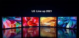 Tổng quan các dòng tivi LG 2021