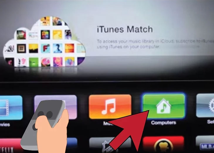 Xem thư viện iTunes được chia sẻ