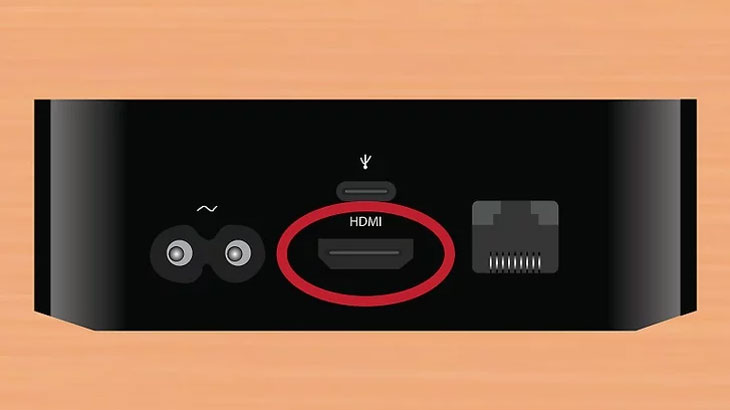 ết nối Apple TV với HDTV hoặc thiết bị âm thanh qua HDMI