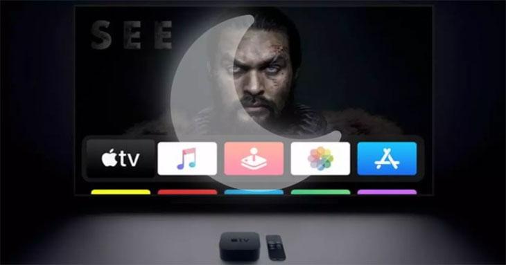 Lưu ý sử dụng Apple TV hiệu quả: Cài đặt chế độ ban đêm