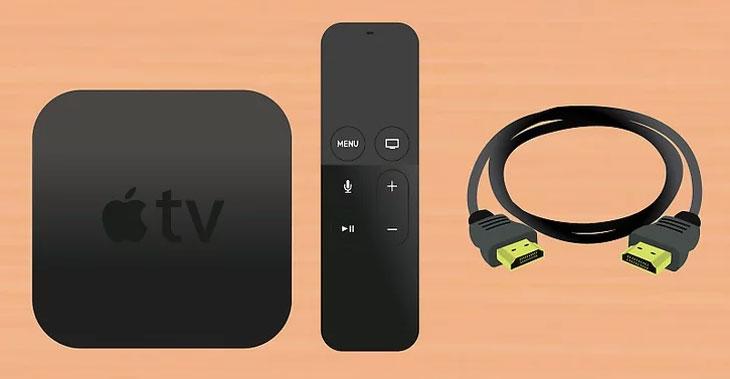 Chuẩn bị dụng cụ cài đặt Apple TV
