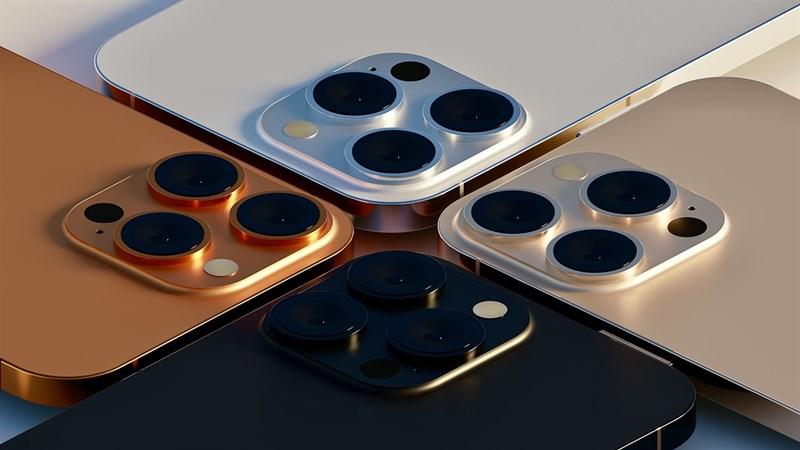 Lộ diện 4 màu sắc tuyệt đẹp của iPhone 13 series: 2 màu hoàn toàn mới
