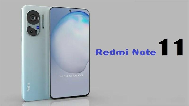 Cấu hình Redmi Note 11: Chạy chip MediaTek, 4 camera sau, pin 5.000mAh
