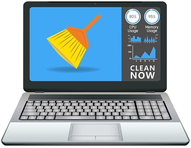 Bạn nên sử dụng các phần mềm diệt virus để loại bỏ những file không cần thiết trong laptop của bạn. Nguồn: Laptop Talks.