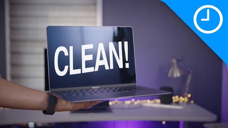 Vệ sinh laptop có tác dụng khá lớn cho thiết bị của bạn.