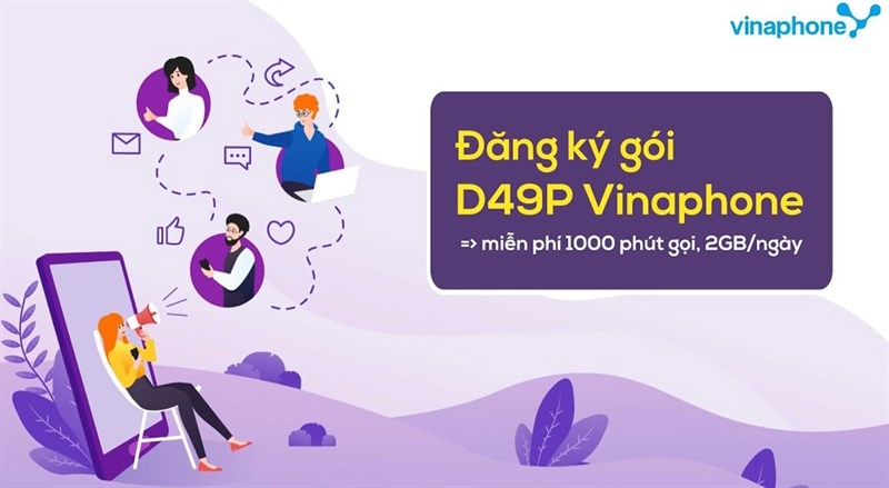Cách đăng ký gói cước 4G Vinaphone
