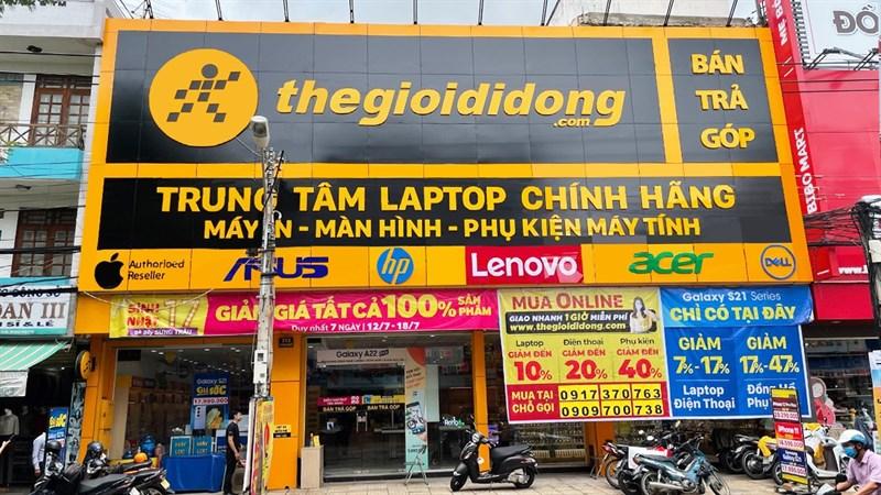 Thế Giới Di Động khai trương trung tâm laptop lớn nhất tỉnh Ninh Thuận
