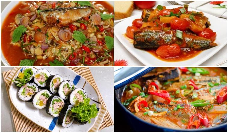 Tổng hợp 8 món ăn chế biến từ cá hộp dễ làm nhưng siêu 'bắt cơm'