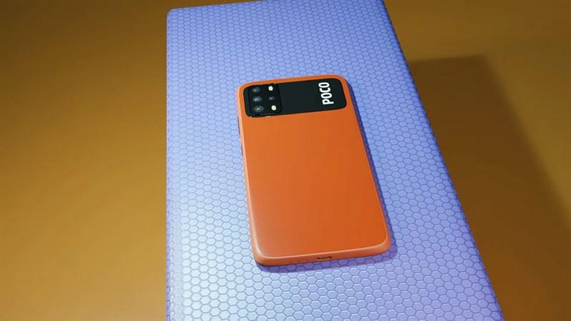 Xiaomi POCO M4 có cụm camera chất lượng
