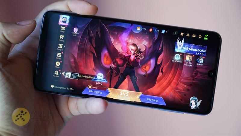 Liệu pin của Galaxy A22 có mang đến thời lượng chiến game lâu dài hay không?
