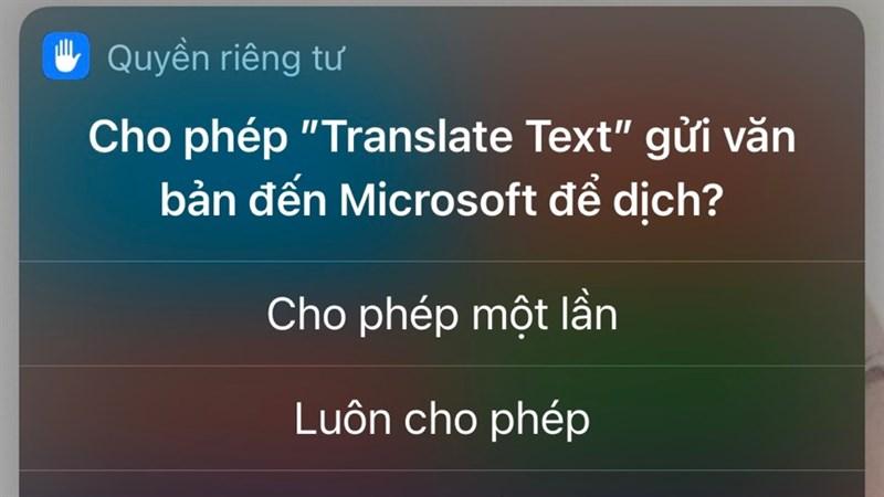 cách sử dụng tính năng dịch ngôn ngữ