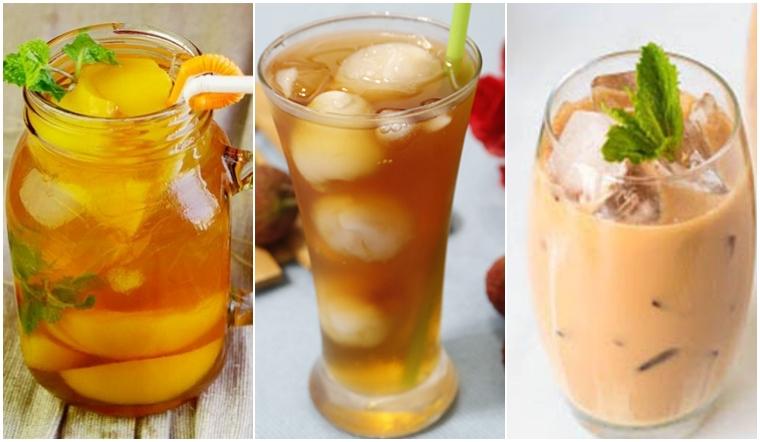 3 công thức pha trà sữa, trà đào và trà vải chuẩn vị Phúc Long