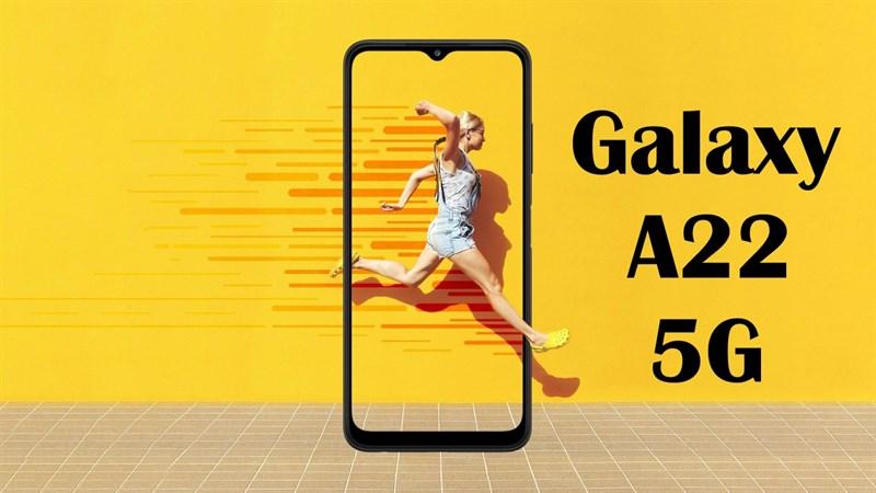 Galaxy A22 5G lộ giá bán