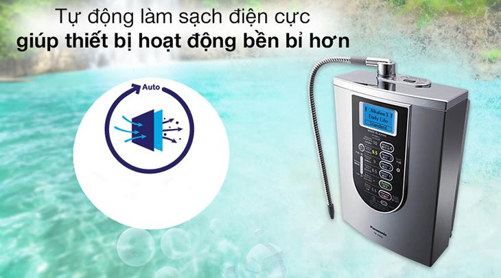 Máy lọc nước Panasonic tích hợp nhiều tính năng an toàn