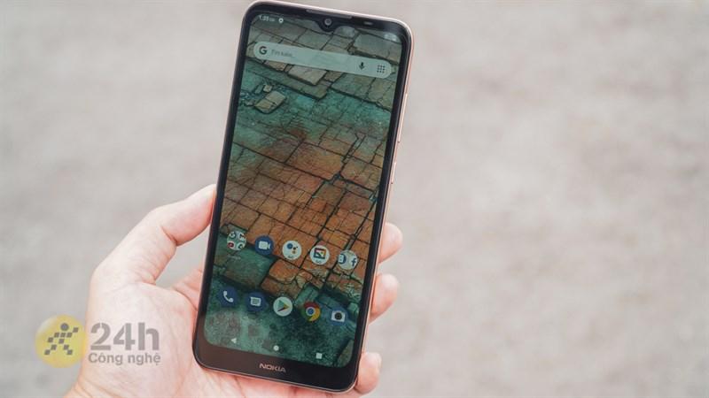 Nokia C20 màn hình