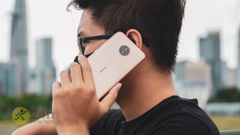 Nokia C20 trên tay