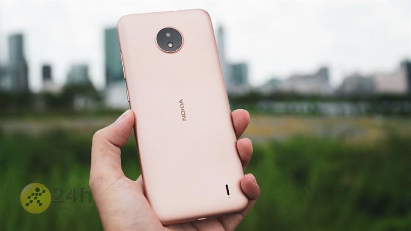 Nokia C20 thiết kế