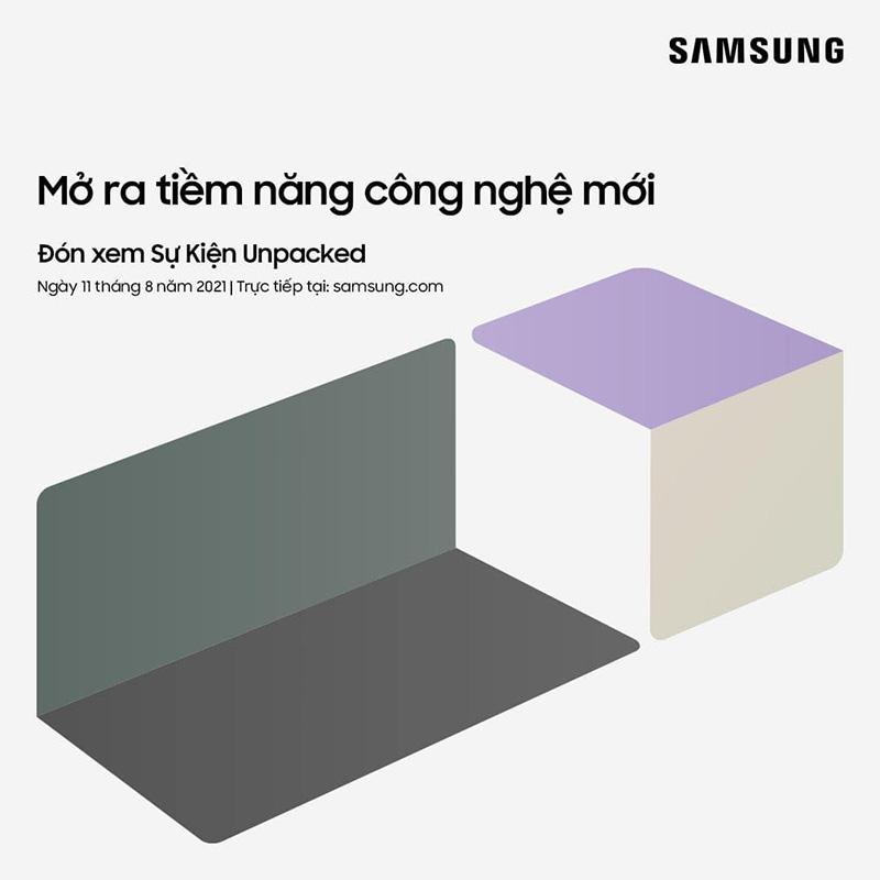 Samsung xác nhận tổ chức sự kiện Galaxy UNPACKED vào 11/8, sẽ có...