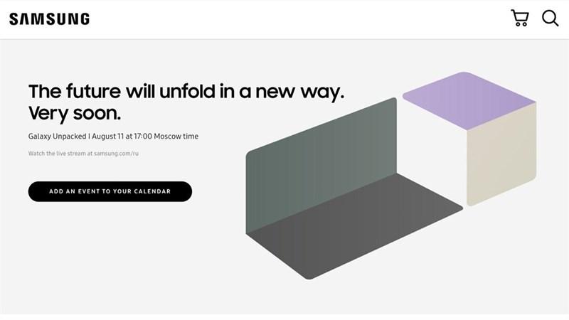 Samsung xác nhận ngày diễn ra sự kiện UNPACKED