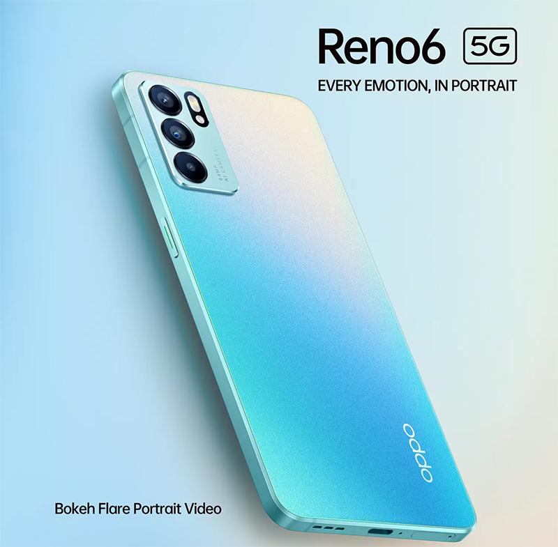 Đặt trước OPPO Reno6 5G series, nhận ngay quà xịn tiền triệu sành điệu