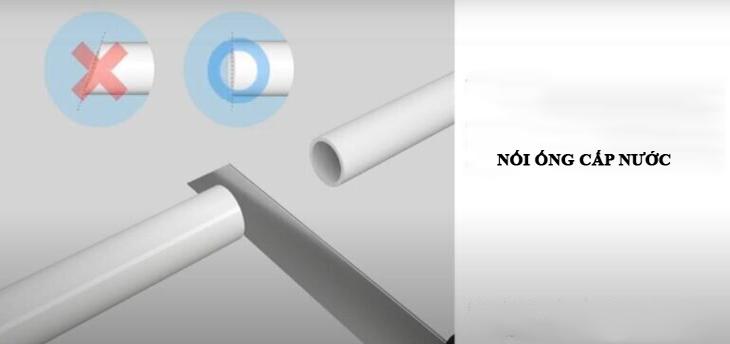Cách nối ống cấp nước trên tủ lạnh side by side samsung