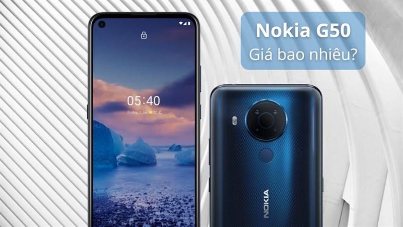 Nokia G50 giá bao nhiêu?