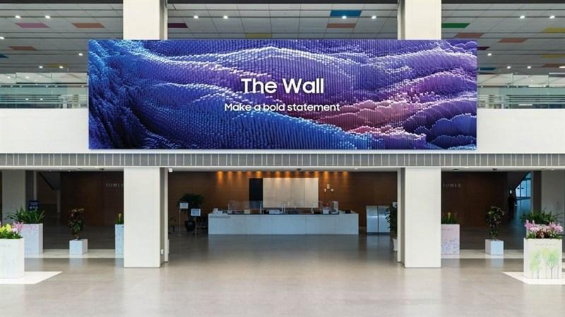 Samsung ra mắt TV The Wall microLED 2021