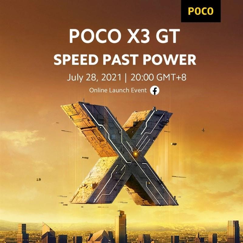 POCO X3 GT sẽ được công bố gần chưa đầy một tuần sau khi F3 GT ra mắt