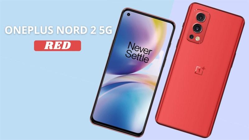 OnePlus Nord 2 5G màu đỏ