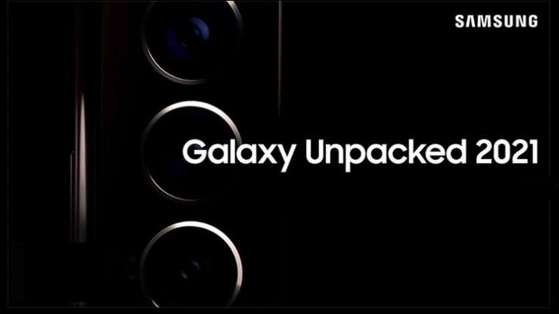 Lộ thư mời chính thức sự kiện Galaxy Unpacked 2021