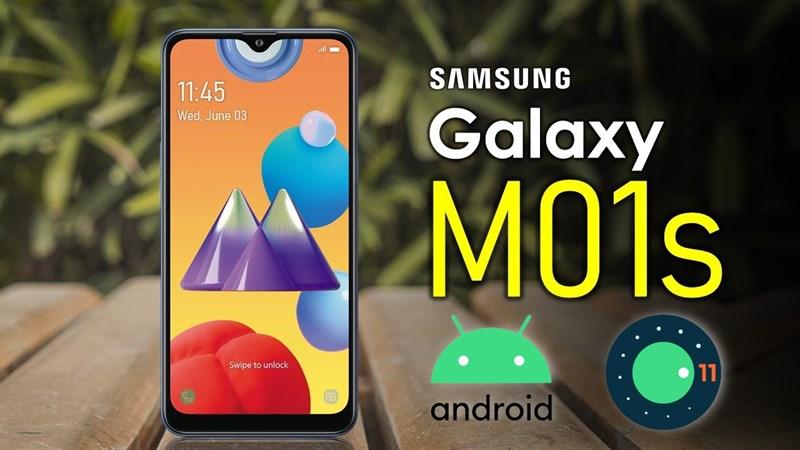 Galaxy M01s bắt đầu được cập nhật Android 11 với giao diện One UI Core 3.1, bạn nào đang dùng máy này thì kiểm tra ngay
