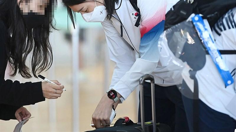 Galaxy Watch 4 được phát hiện trên tay vận động viên Hàn Quốc