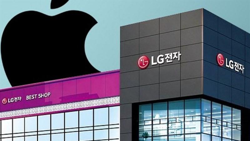 LG đạt thỏa thuận với Apple để bán iPhone
