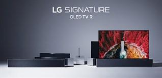 TV LG OLED R màn hình cuộn sắp lên kệ tại Mỹ với giá 2,3 tỷ