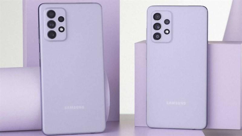 Samsung Galaxy A52 và A72 nhận bản cập nhật cải tiến chất lượng camera