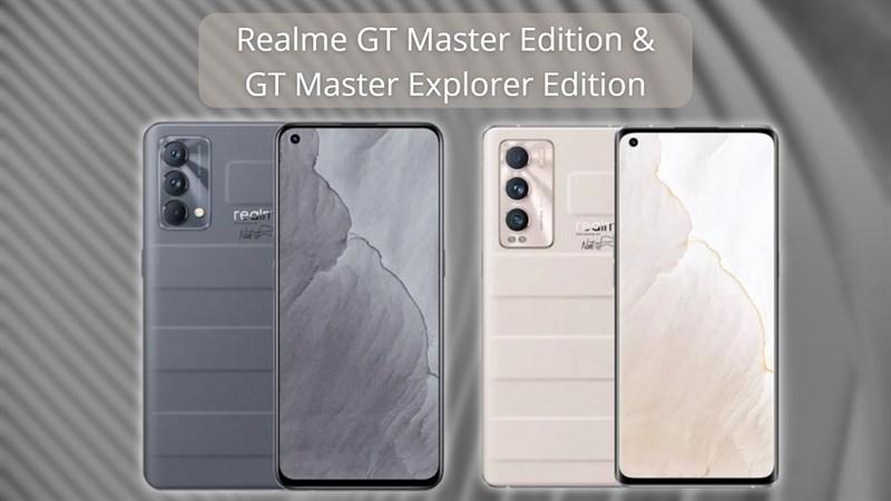 Dòng Realme GT Master Edition ra mắt: Thiết kế cao cấp, giá tầm trung