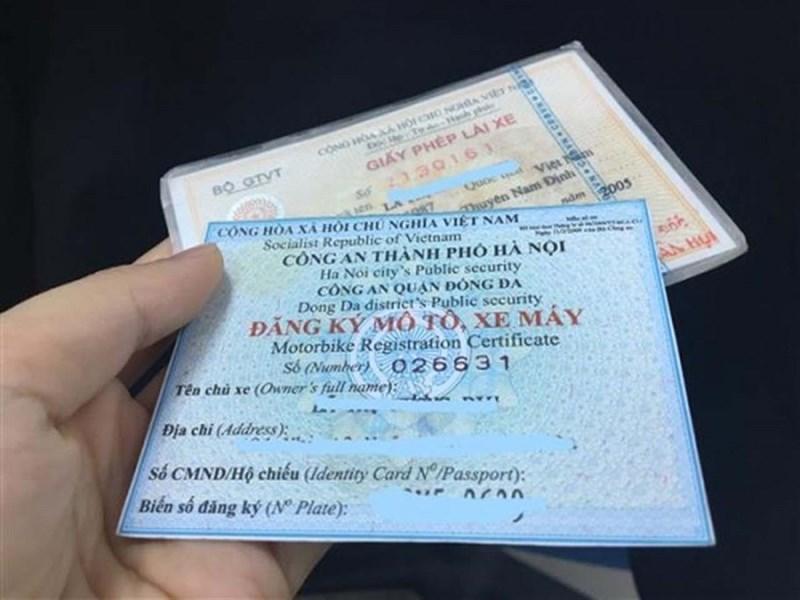 Từ 21/7 người dân có thể để đăng ký xe mới hoặc khai báo mất xe online