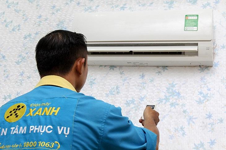 Kiểm tra máy và hướng dẫn khách hàng sử dụng