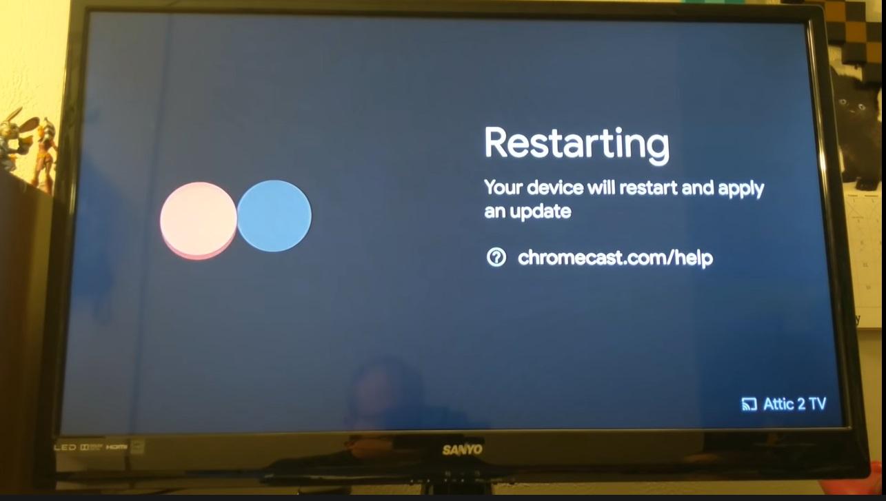 Chromecast restart