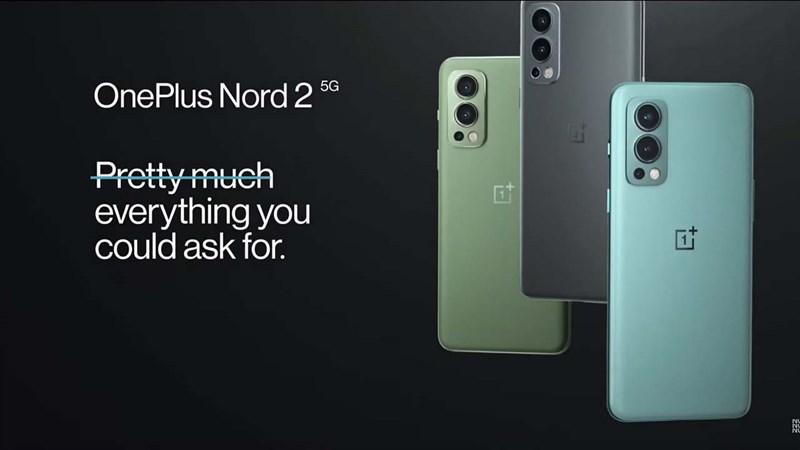 OnePlus Nord 2 5G ra mắt: Lần đầu chạy chip MediaTek, giá từ 8.6 triệu