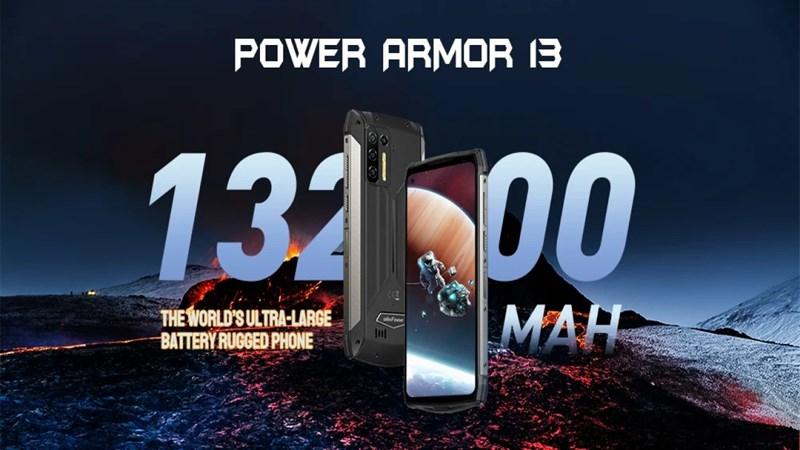 Power Armor 13 ra mắt, Power Armor 13 cấu hình, điện thoại pin trên 10000 mah, điện thoại pin khủng nhất 2021, điện thoại ulefone pin khủng, điện thoại