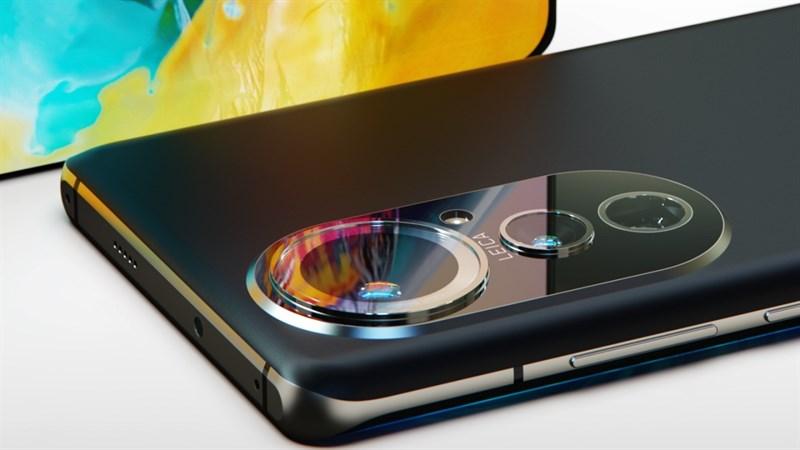 Dòng Huawei P50 Pro được cho là có cụm camera hầm hố phía sau
