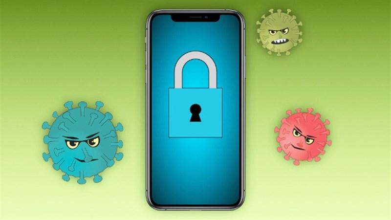 Virus on iPhone