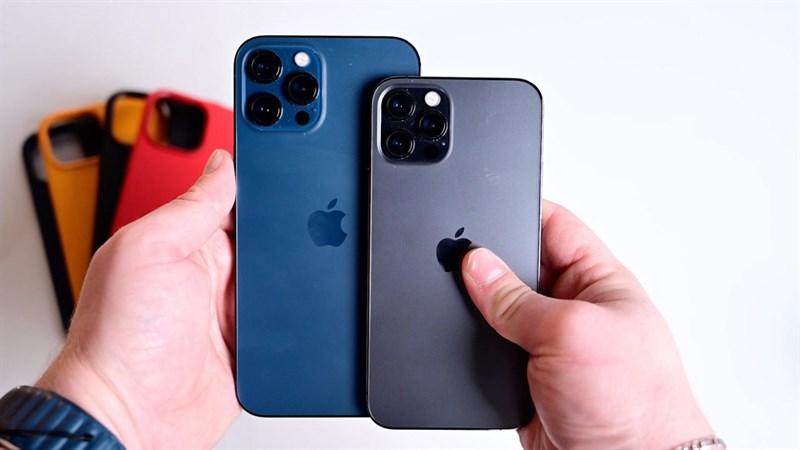 người chơi hệ iOS nên mua iPhone 12 Pro hay iPhone 12 Pro Max tại TGDĐ