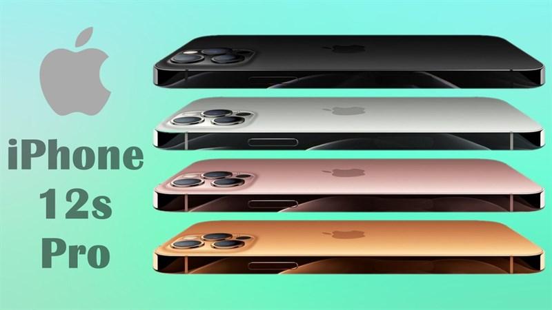 iPhone 12s Pro (iPhone 13 Pro) lộ các tùy chọn màu sắc, mình thích phiên bản Vàng hoàng hôn, còn bạn ưng bụng mẫu nào?