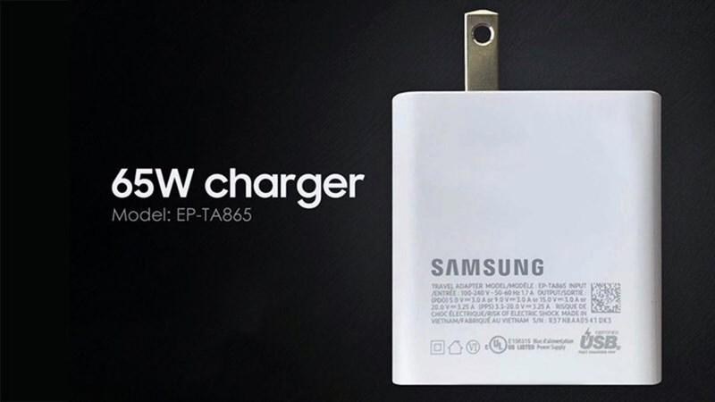 Củ sạc nhanh 65 W của Samsung đạt chứng nhận quan trọng