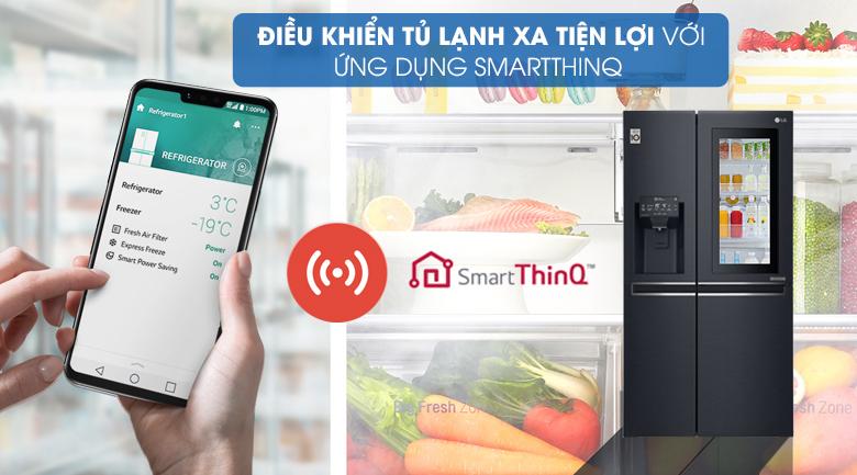 Bạn dễ dàng điều chỉnh từ xa bằng ứng dụng SmartThinQ™