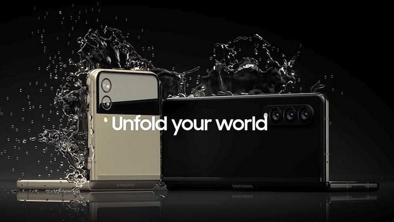Galaxy Z Fold 3 và Galaxy Z Flip 3 vừa lộ ảnh quảng cáo, xác nhận một tính năng mà nhiều người đang mong đợi